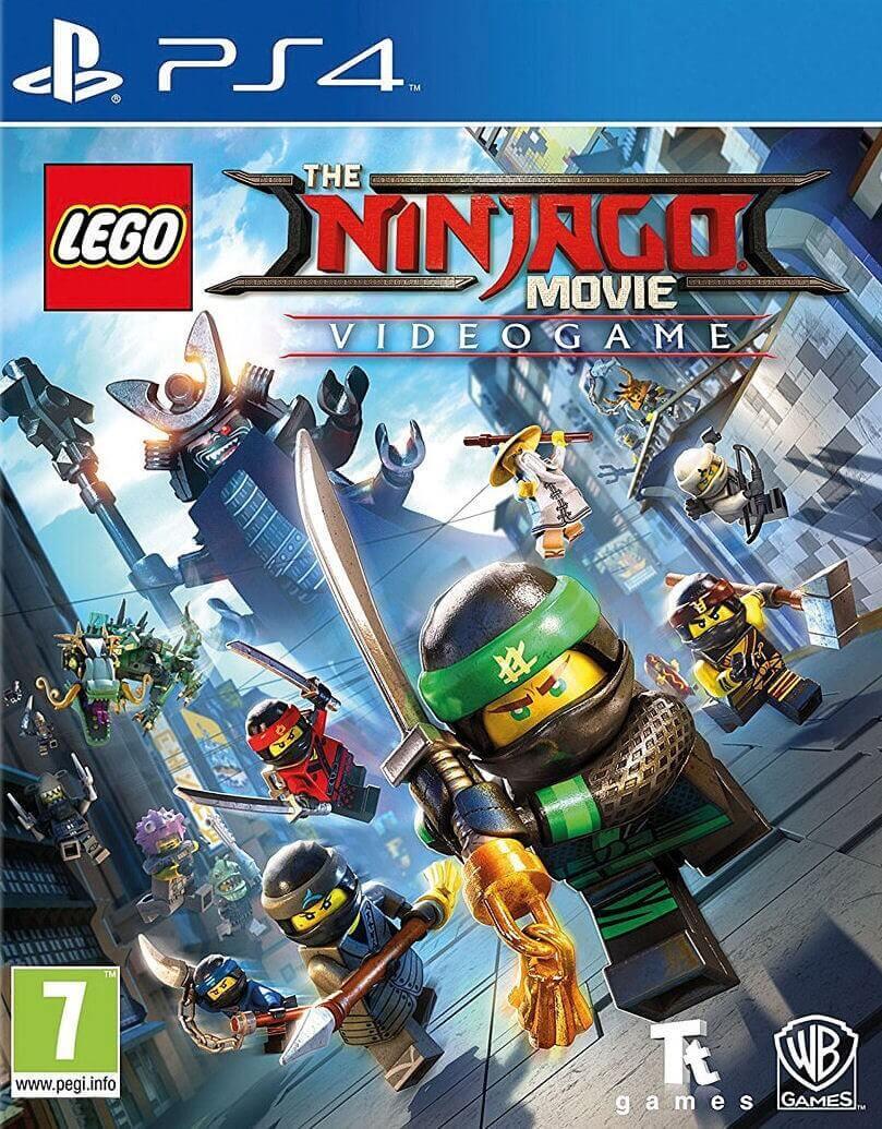 LEGO Ninjago Movie Game: Videogame PS4
