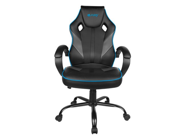 FURY AVENGER M juoda/pilka kėdė
