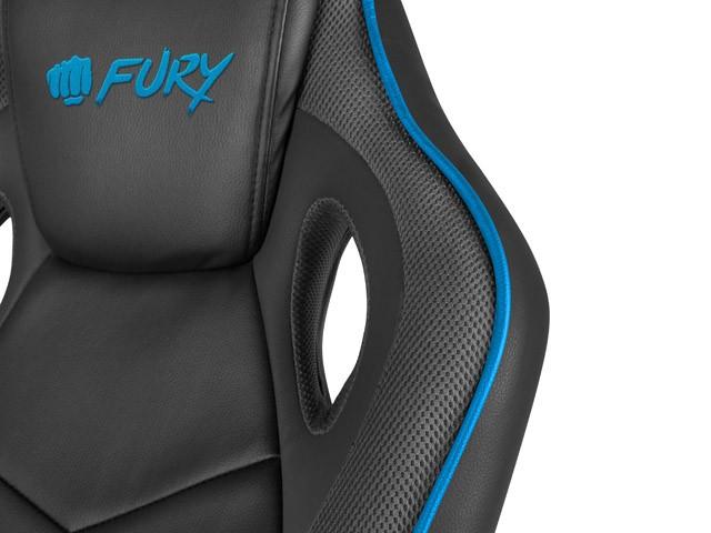 FURY AVENGER S juoda/pilka kėdė