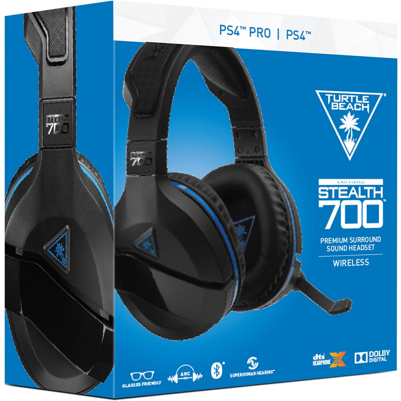 Turtle Beach Stealth 700P wireless headset PS4/PC
