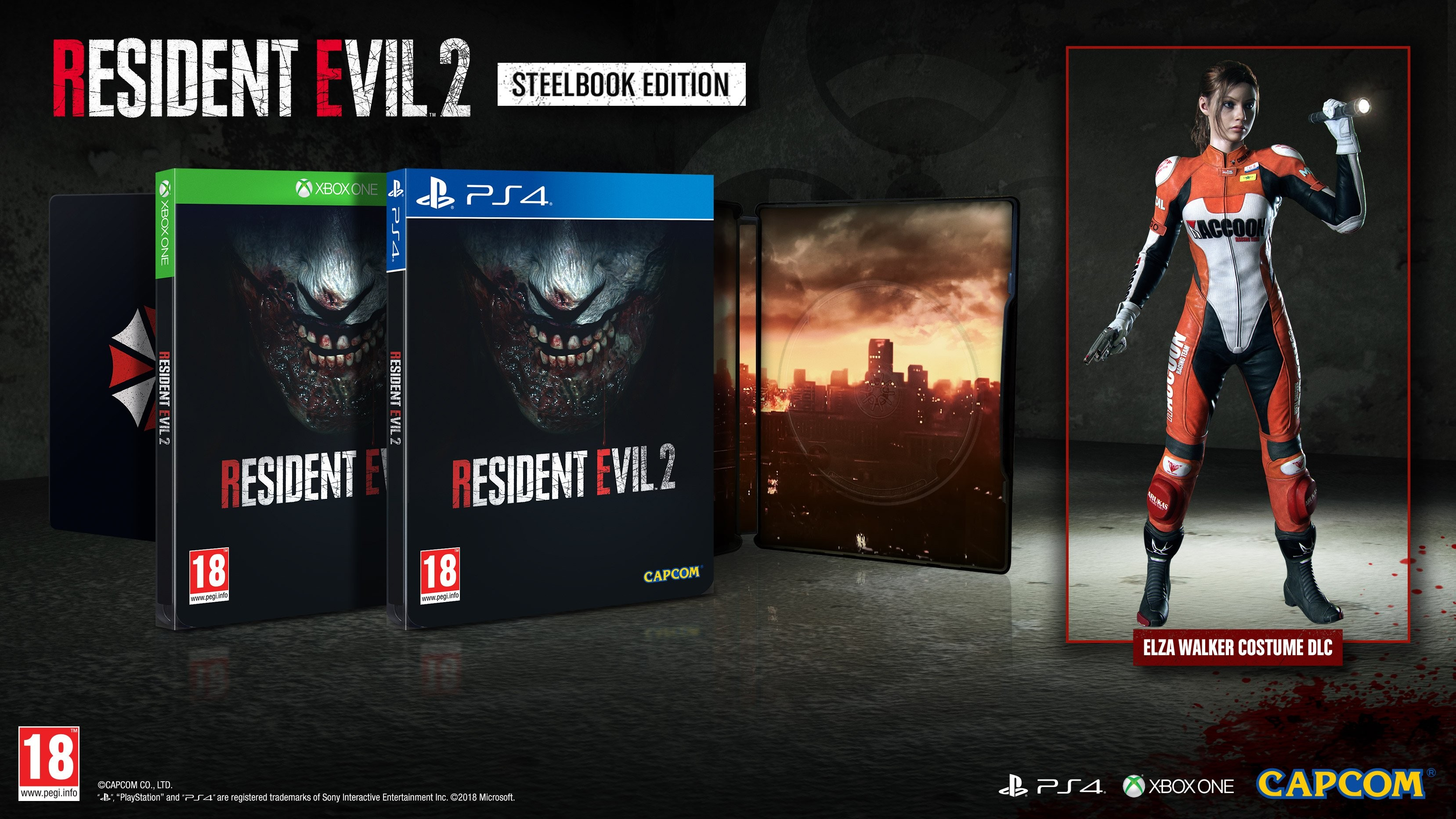 Buy Resident Evil 2 Remake Steelbook Edition, XBOX ONE