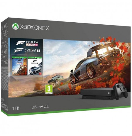 Xbox One X 1TB žaidimų konsolė