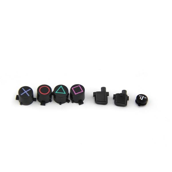 Dualshock 4 valdiklio korpusas ir mygtukai (juodas)