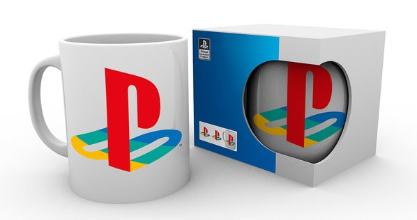 PLAYSTATION Colour logo puodukas