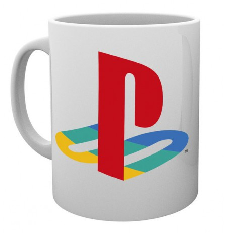 PLAYSTATION Colour logo puodukas