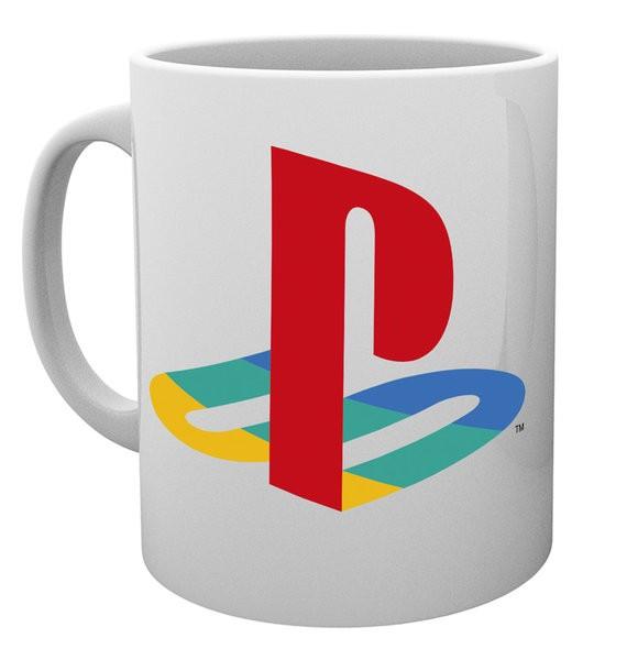 PLAYSTATION Colour logo mug
