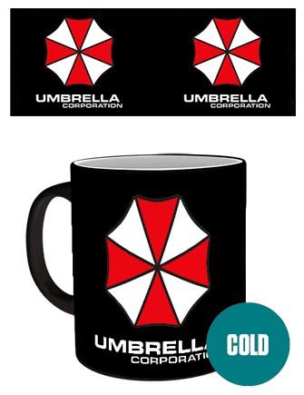 RESIDENT EVIL Umbrella heat change mug