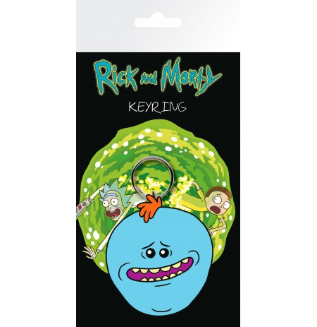 RICK AND MORTY Meeseeks guminis pakabukas