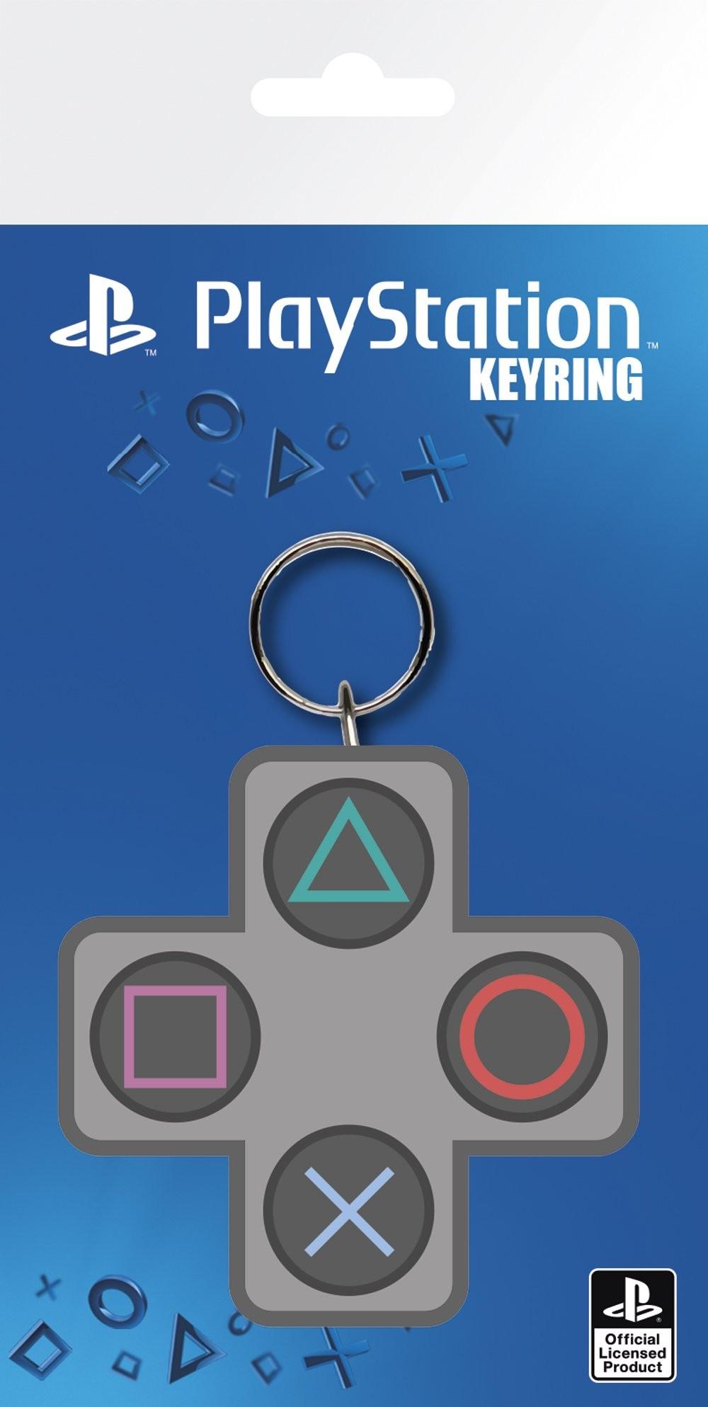 PLAYSTATION Buttons guminis pakabukas