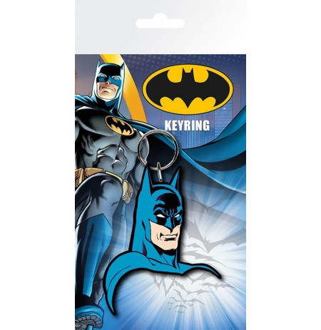 BATMAN COMIC Face rubber keyring