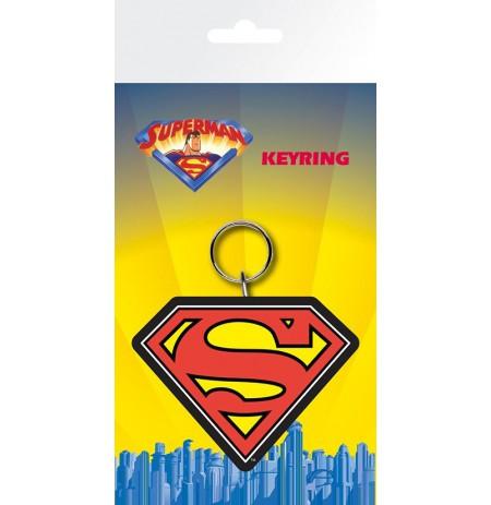 SUPERMAN Logo guminis pakabukas