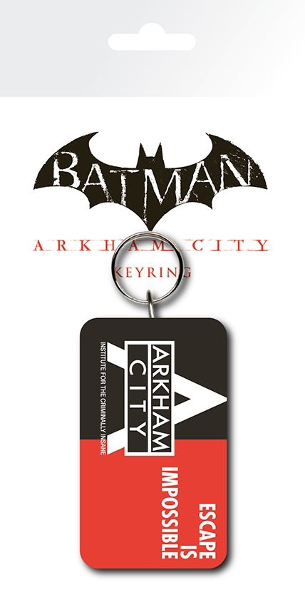 BATMAN COMIC Wings rubber keyring