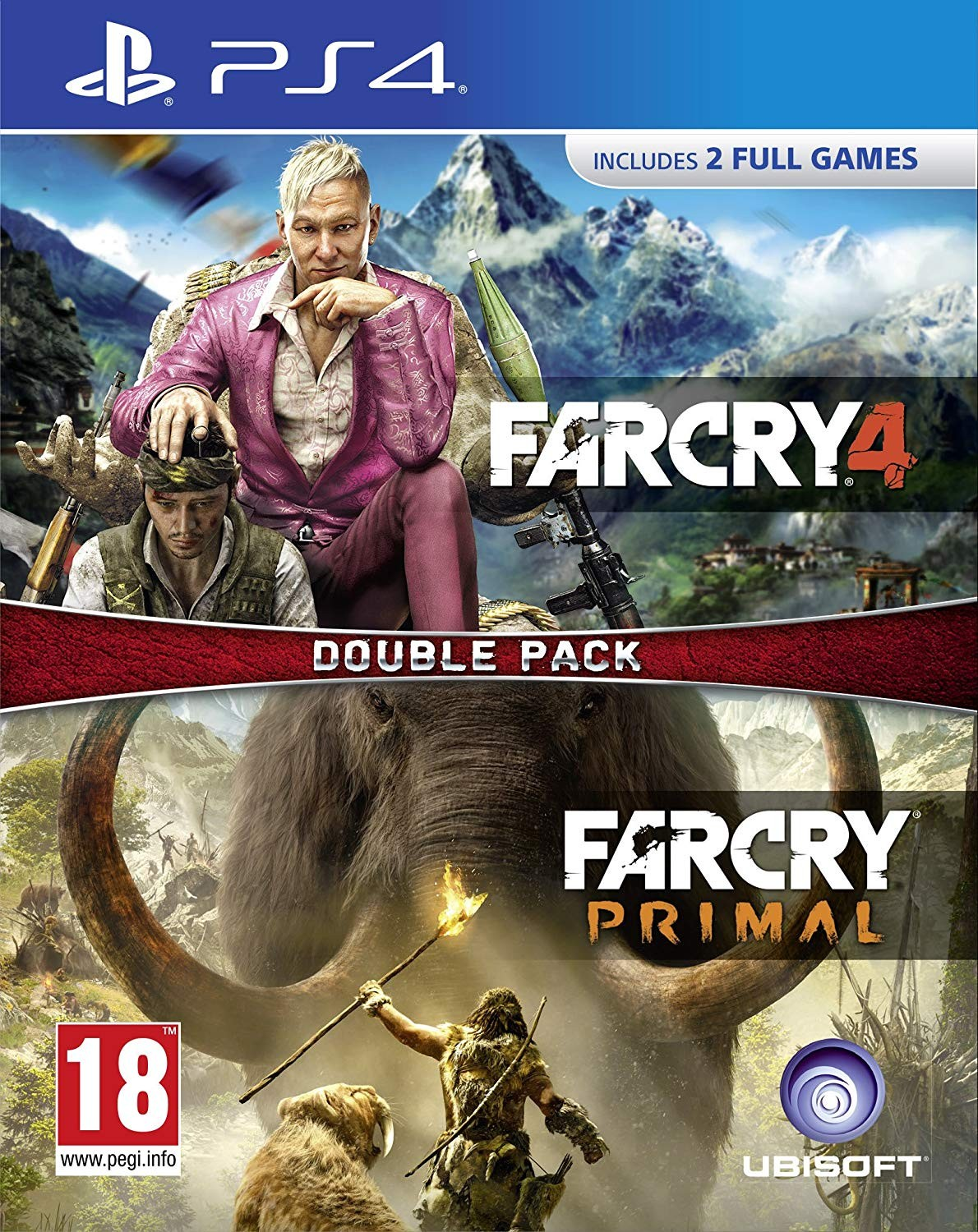 Far Cry Primal and Far Cry 4 Double Pack PS4