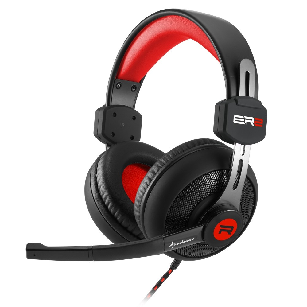 Sharkoon Rush ER2 Gaming Headset Red
