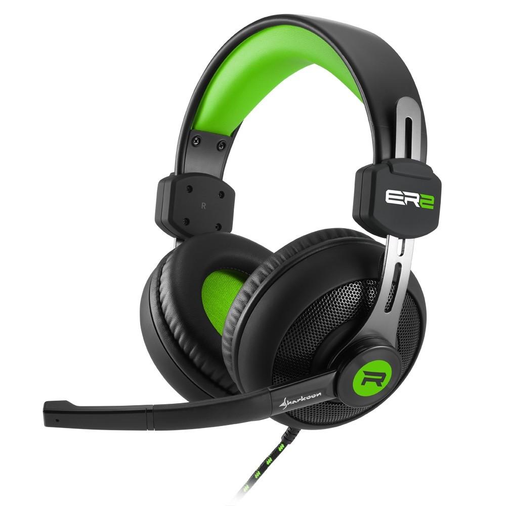 Sharkoon Rush ER2 Gaming Headset Green