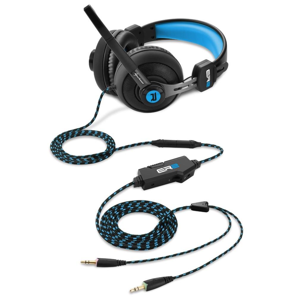 Sharkoon Rush ER2 Gaming Headset Blue