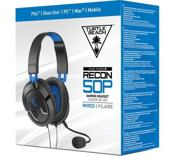 Turtle Beach Recon 50P laidinės ausinės PS4/PC | 3.5mm