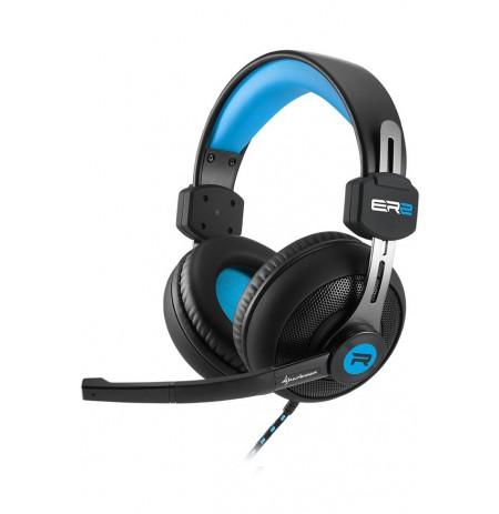 Sharkoon Rush ER2 mėlynos laidinės ausinės | 3.5mm