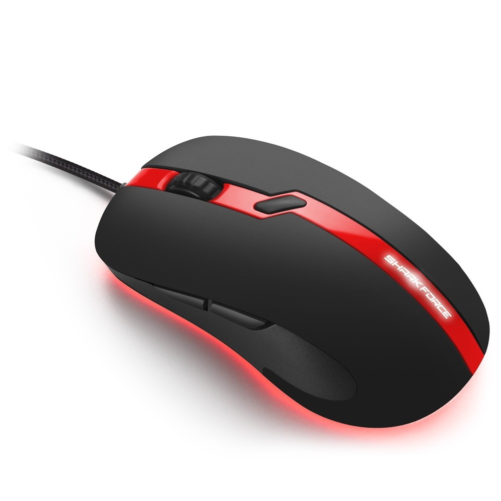 Sharkoon Forse Pro Gaming Mouse Red