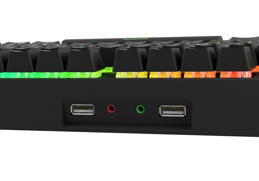 GENESIS THOR 200 RGB mecha-membrane keyboard (US)