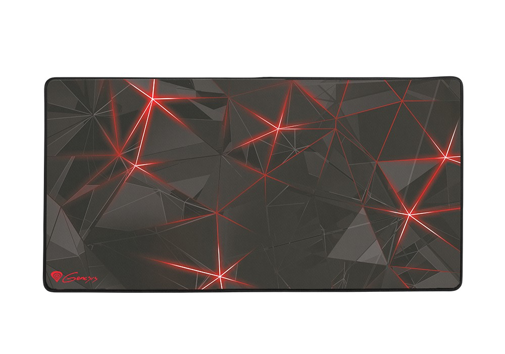 GENESIS CARBON 500 MAXI FLASH 900x450x2.5mm (M12) pelės kilimėlis