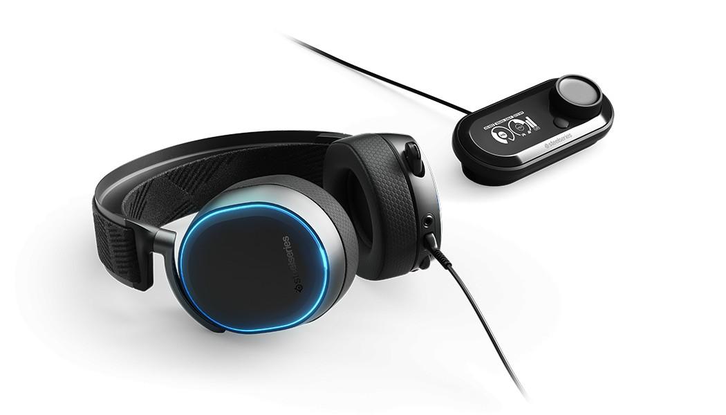 Steelseries Arctis Pro laidinės ausinės + GameDAC | USB / 3.5mm