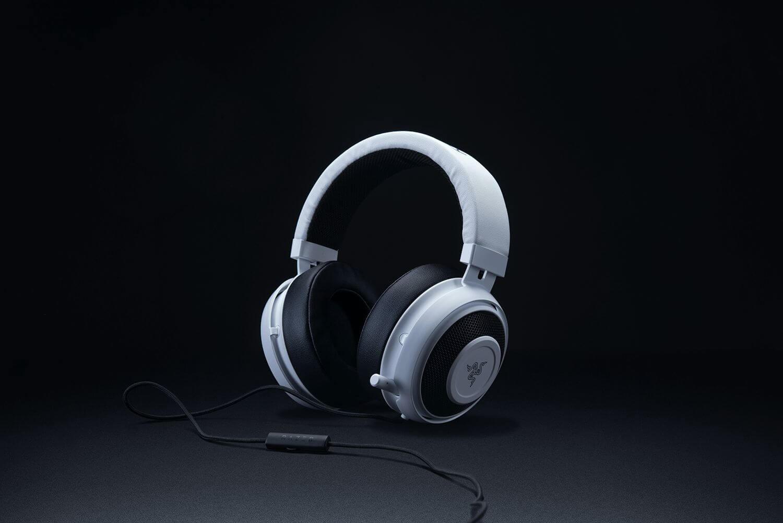 RAZER Kraken PRO V2 laidinės ausinės su mikrofonu (White) | 3.5mm