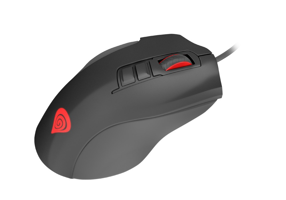 GENESIS XENON 400 laidinė optinė pelė | 5200 DPI