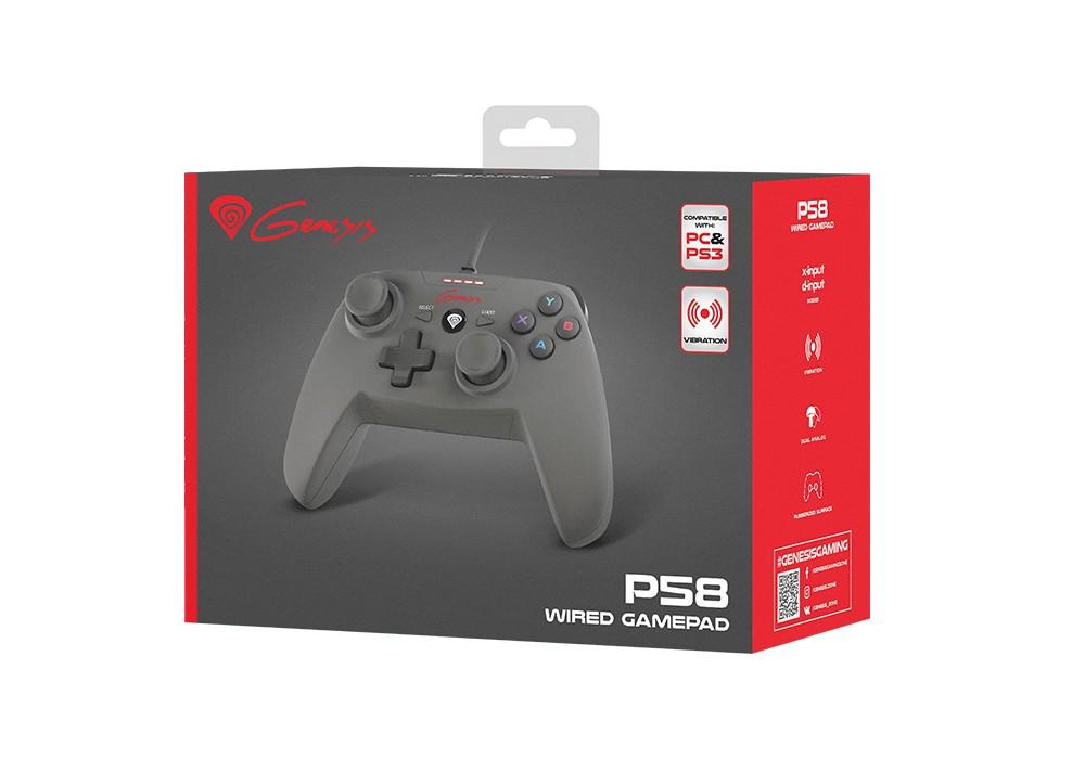 GENESIS P58 GAMEPAD (FOR PS3/PC)