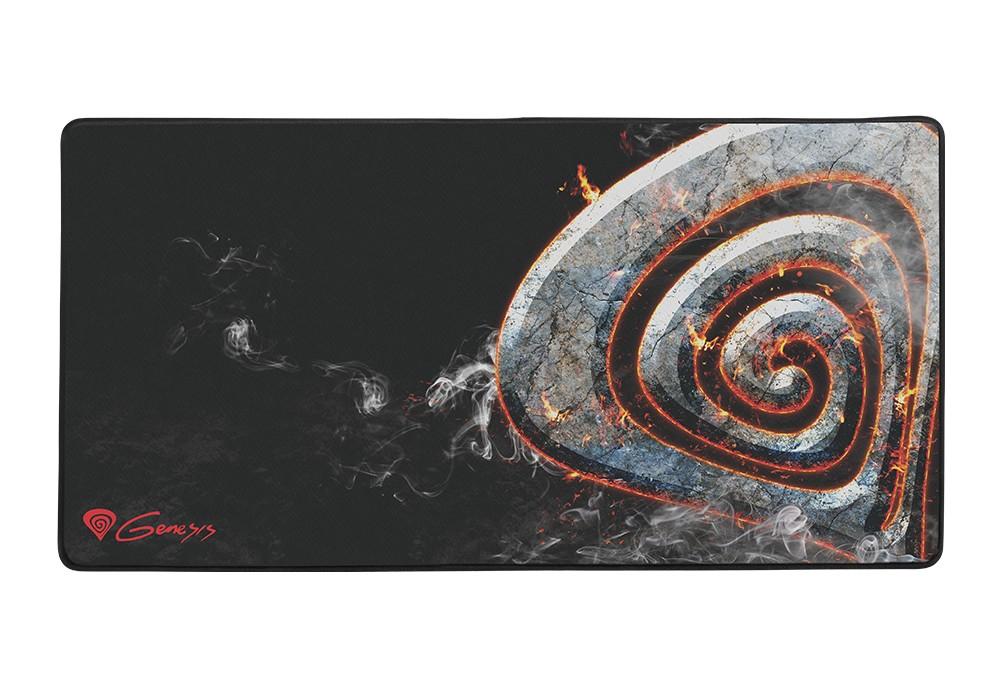 GENESIS CARBON 500 MAXI LAVA 900x450x2.5mm (M12) pelės kilimėlis