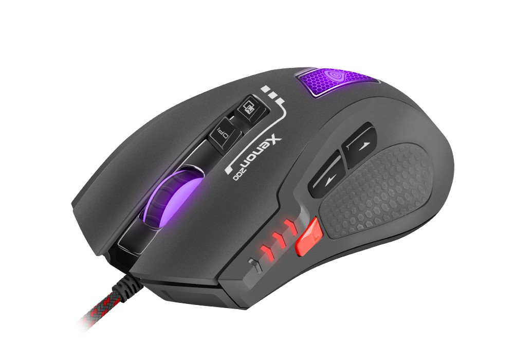 GENESIS XENON 200 OPTICAL GAMING MOUSE 3000DPI WITH SOFTWARE