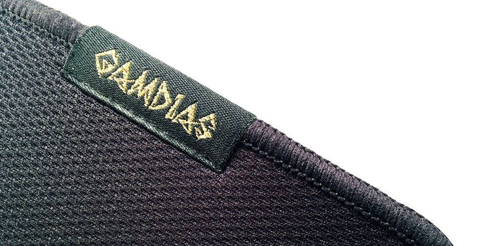 Gamdias Mouse Mat, NYX P1, Black, Size: 900 x 300 x 3mm. mm