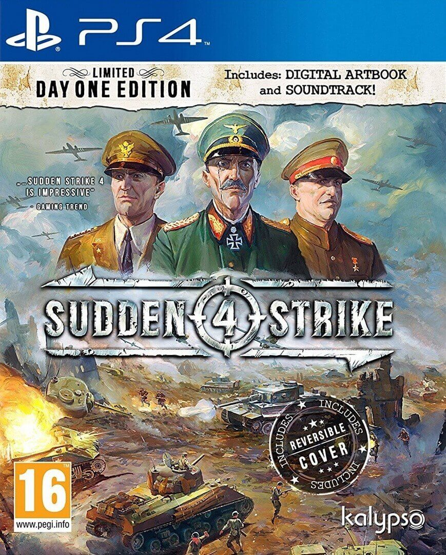Sudden Strike 4: Limited Day One Edition PS4