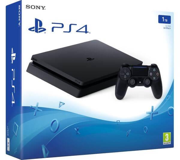 Žaidimų konsolė SONY PlayStation 4 (PS4) Slim 1TB (juoda) PS4