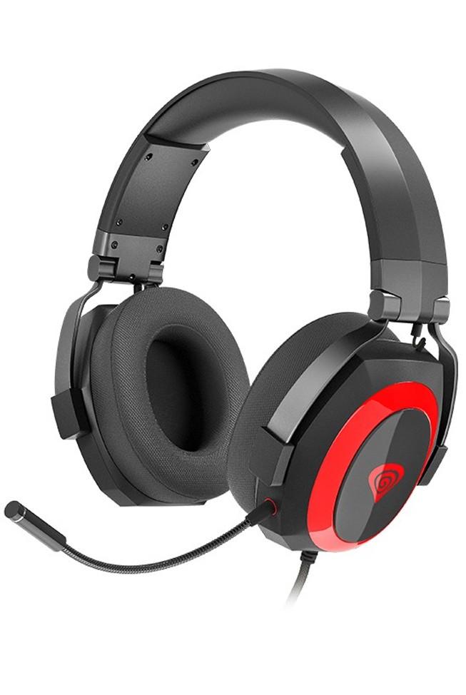 GENESIS ARGON 500 wired headphones with microphone | 3.5mm