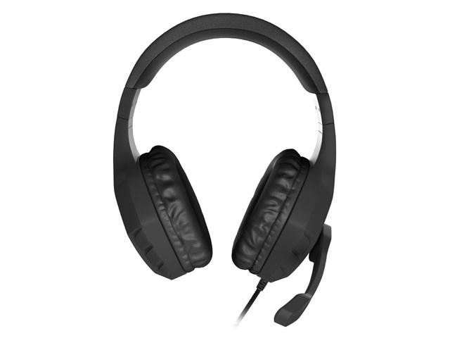 GENESIS ARGON 200 BLACK laidinės ausinės su mikrofonu   2x 3.5mm