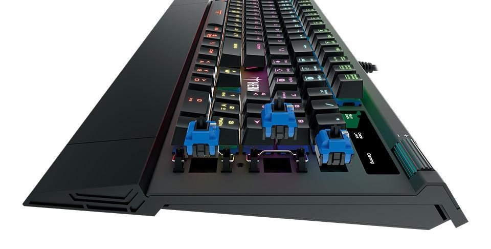 Gamdias HERMES M2 opto-mechaninė klaviatūra US