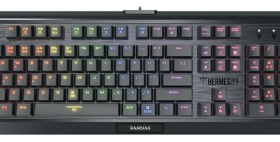 Gamdias HERMES P3 RGB