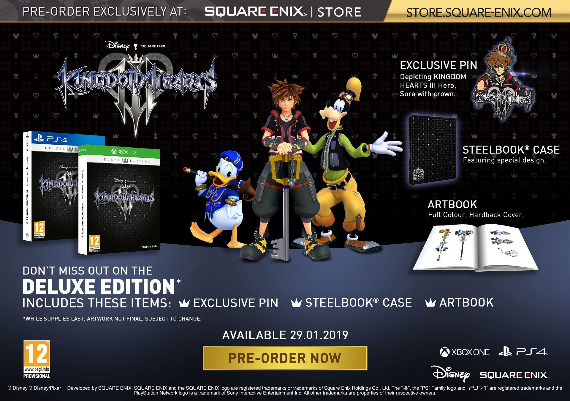 Kingdom Hearts 3 Deluxe Edition
