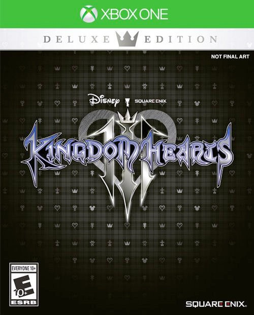 Kingdom hearts 3 Deluxe Edition XBOX