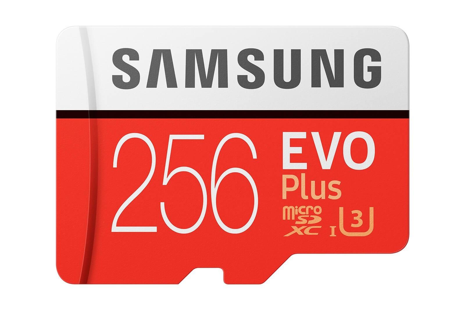 Atminties kortelė Samsung MicroSDXC Evo+ 256GB