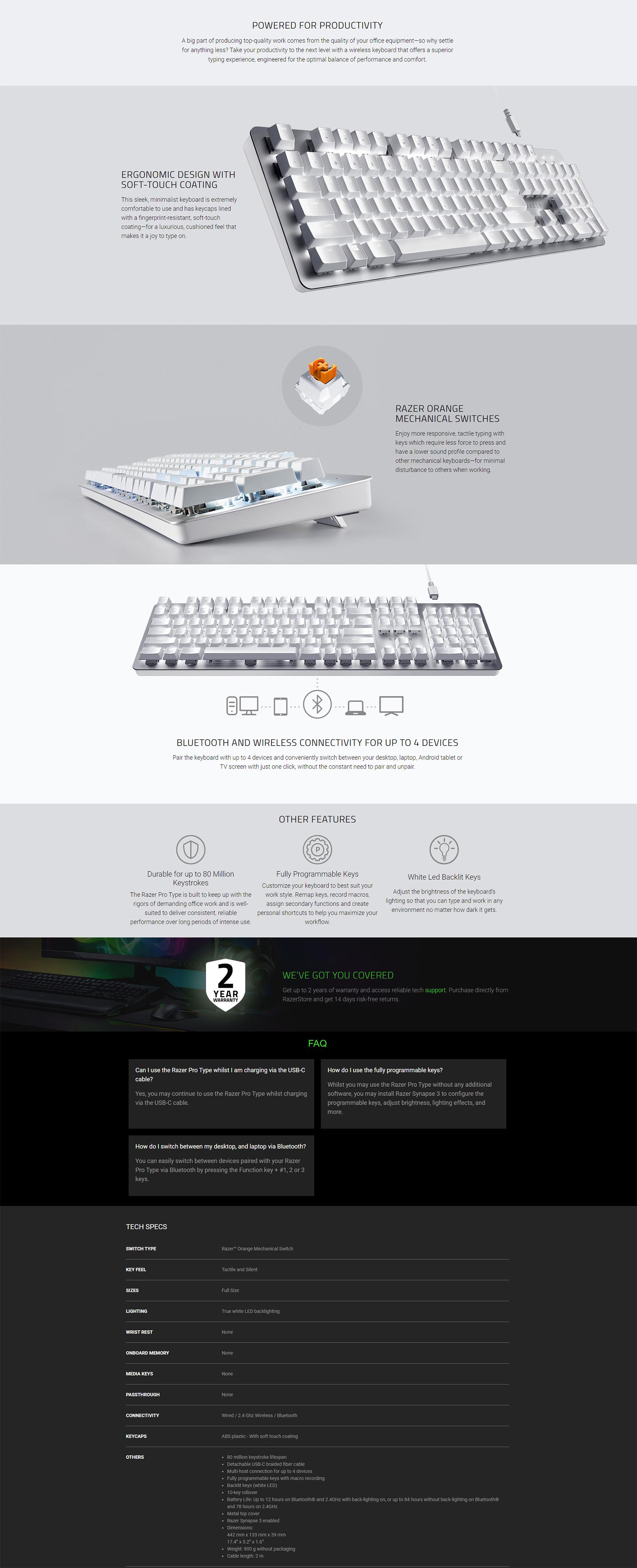 Buy Razer BlackWidow V3 mechanical keyboard