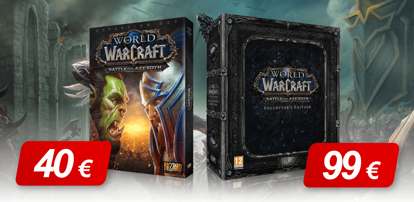 World of Warcraft: Battle of Azeroth newest WoW expansion