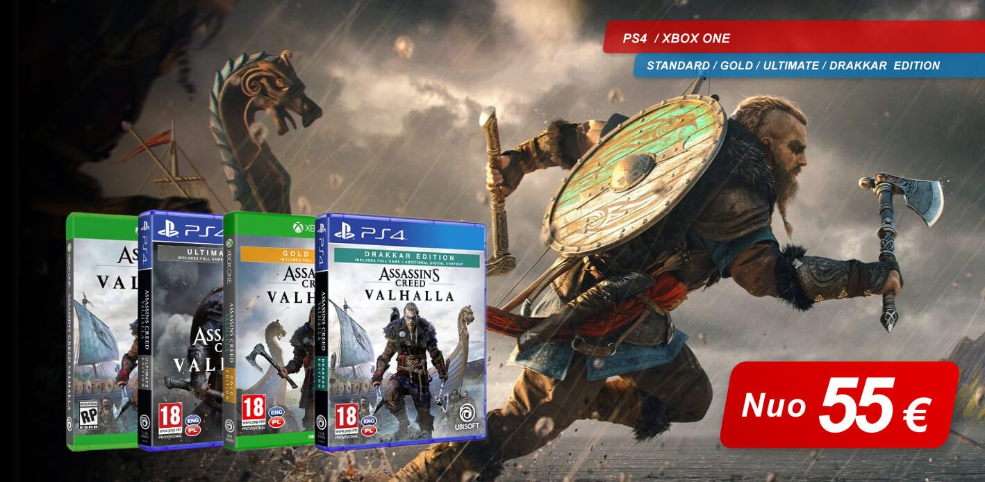 Assassin's Creed Valhalla PREORDER