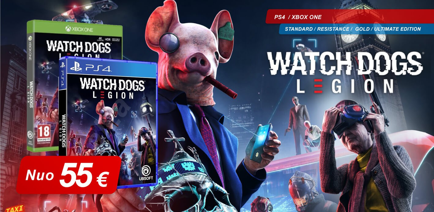 WATCH DOGS LEGION preorder