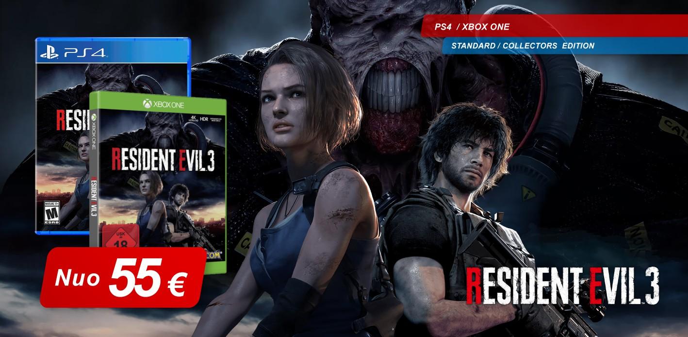 Resident Evil 3 preorder