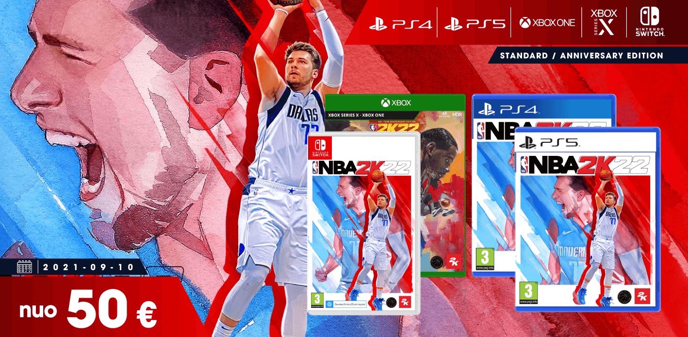 NBA 2K22 PREORDER