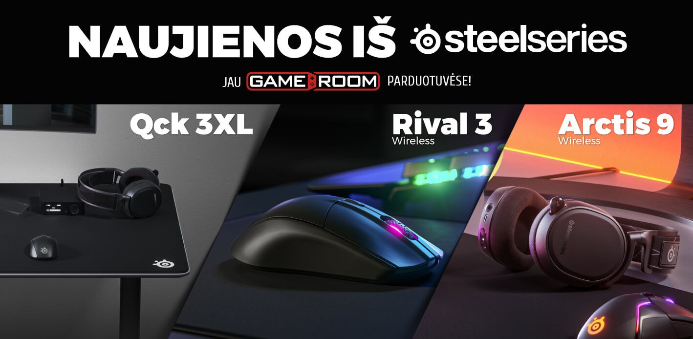 Steelseries new products